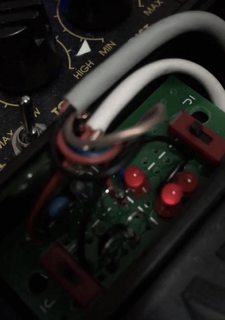 LED対称モード