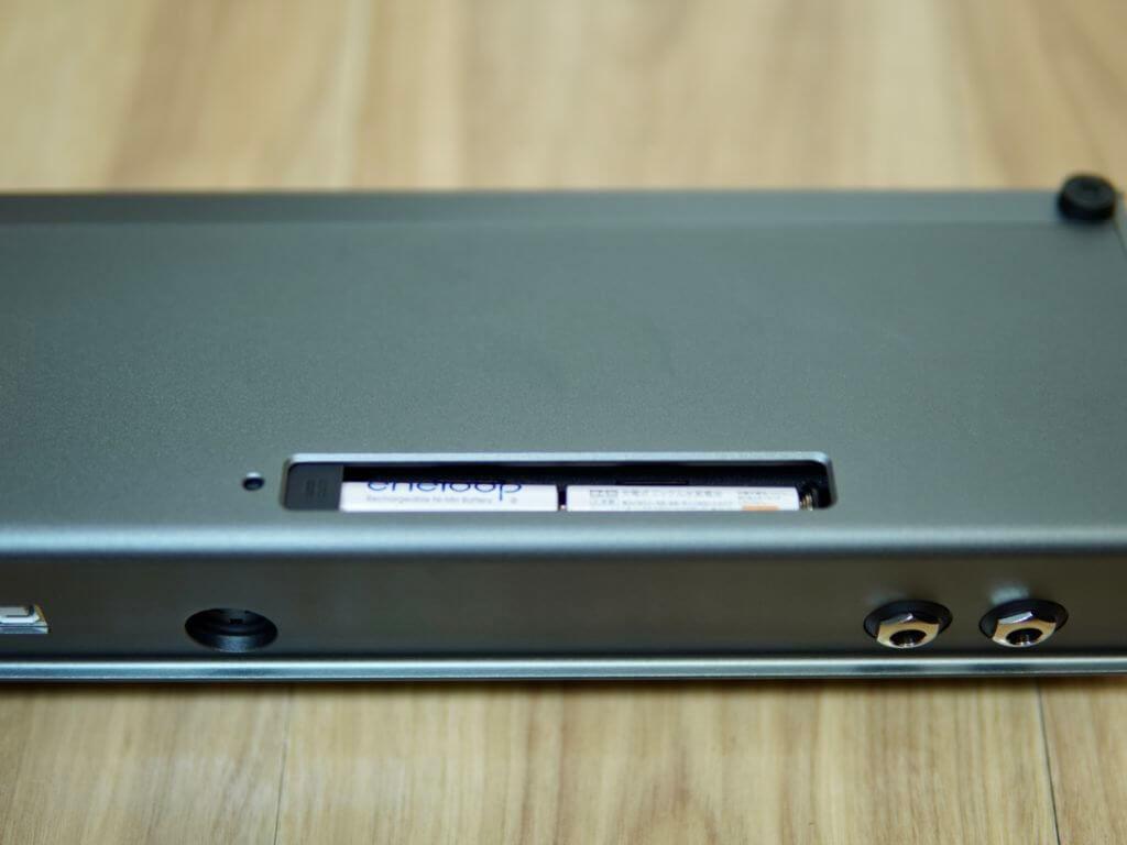 MIDI Commender電池