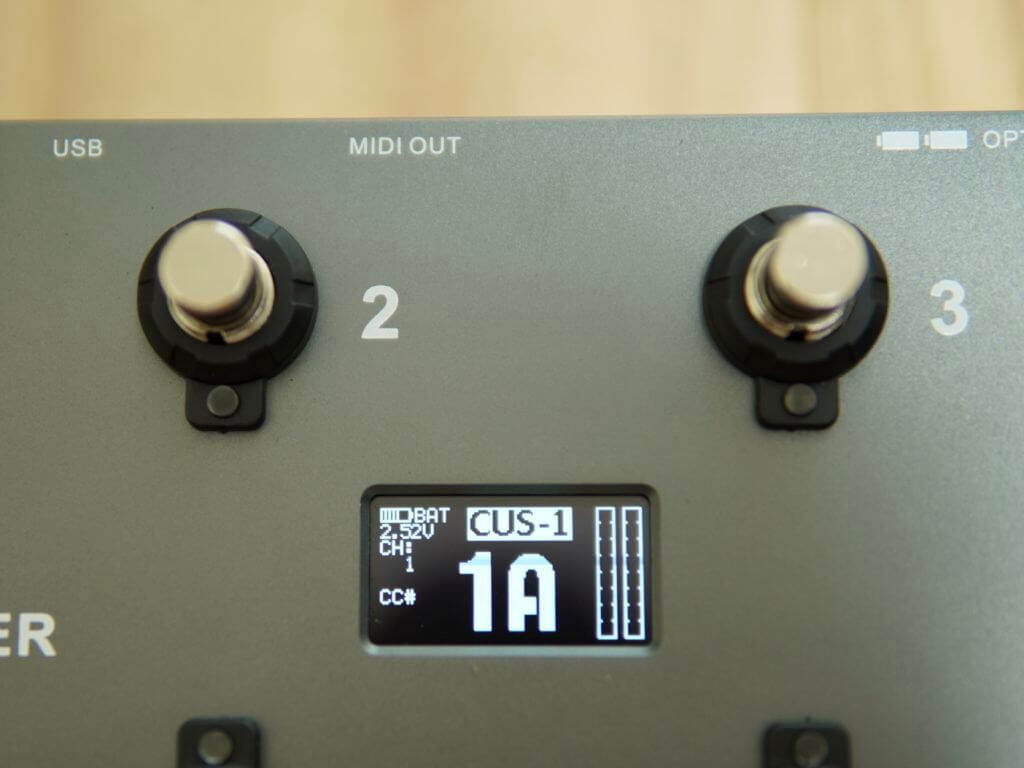 MIDI Commender 電池給電