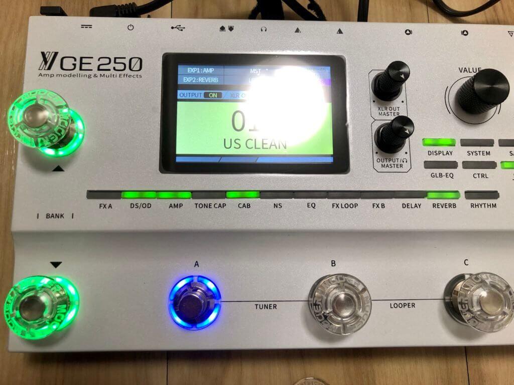 GE250+ハット